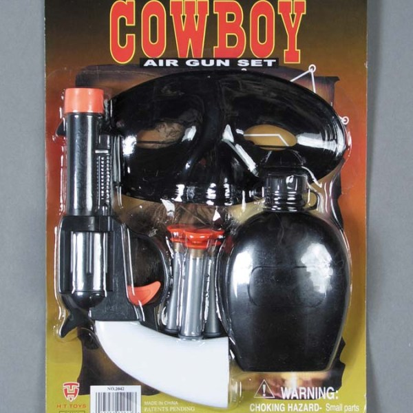 6 pc Cowboy Dart Gun Set   7-2042