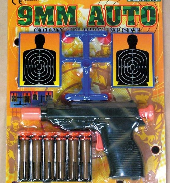 9mm Dart Gun with Spin Targets   7-986