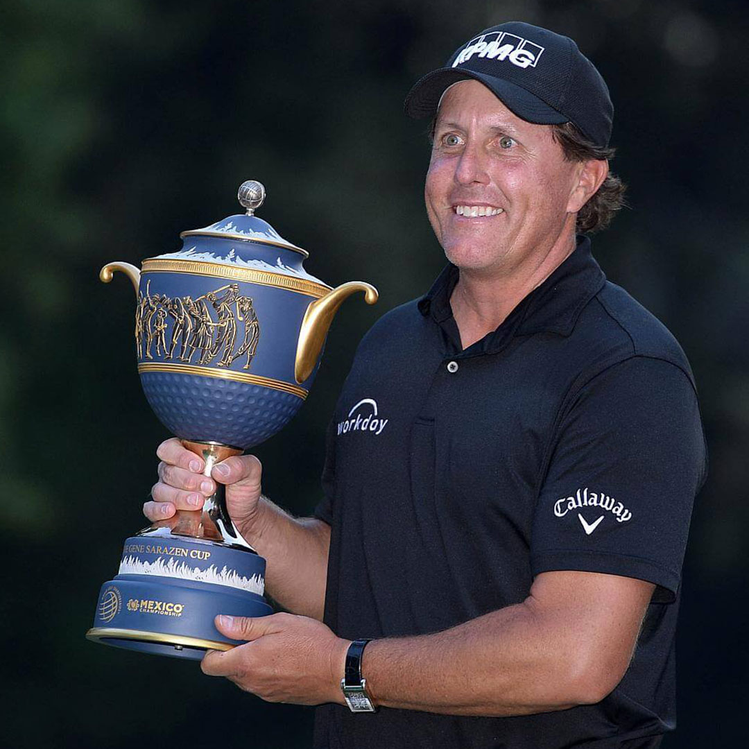 Phil Mickelson Wins