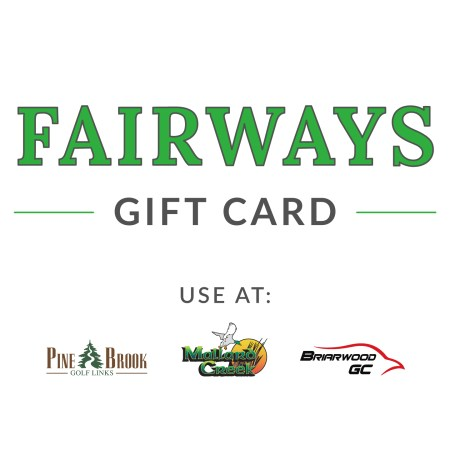 Fairways Gift Card