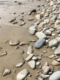 The sand/stone inspiration.