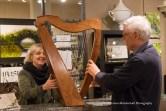 Limerick Irish harp