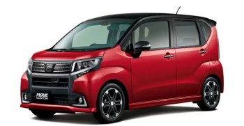 Daihatsu Move Custom RS price and specification 2015 , technical specification