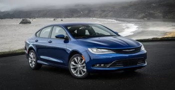 Chrysler 200 2017 Front view