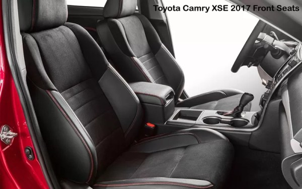 Toyota-Camry-XSE-2017-Front-Seats