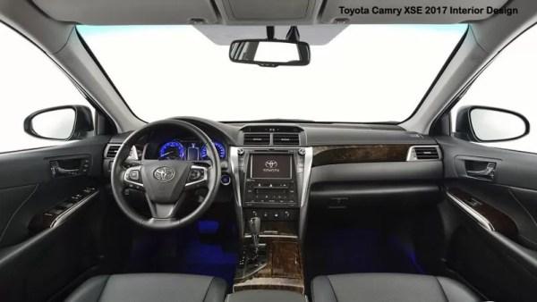 Toyota-Camry-XSE-2017-Interior-Design