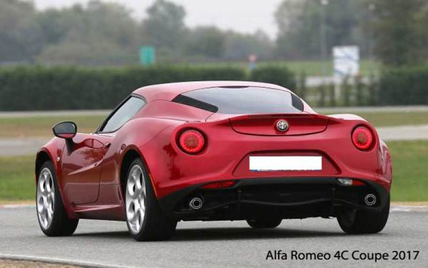 alfa romeo 4c coupe 2017 price specifications overview. Black Bedroom Furniture Sets. Home Design Ideas