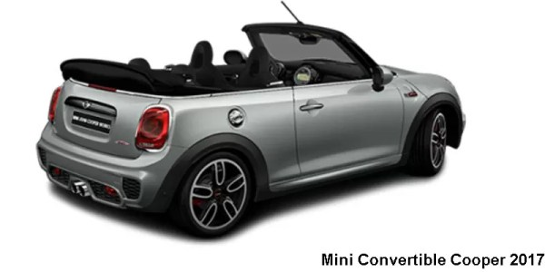Mini Convertible Cooper Fwd 2017 Price Specifications