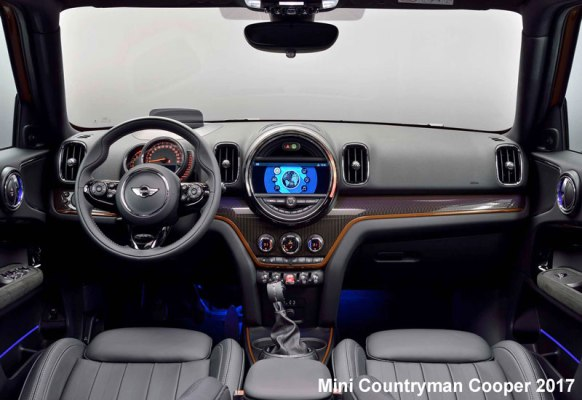 Mini-Countryman-Cooper-2017-steering-and-transmission