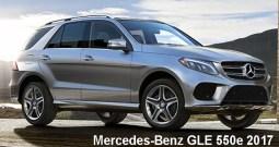 Mercedes-Benz GLE 550e 4MATIC SUV 2017