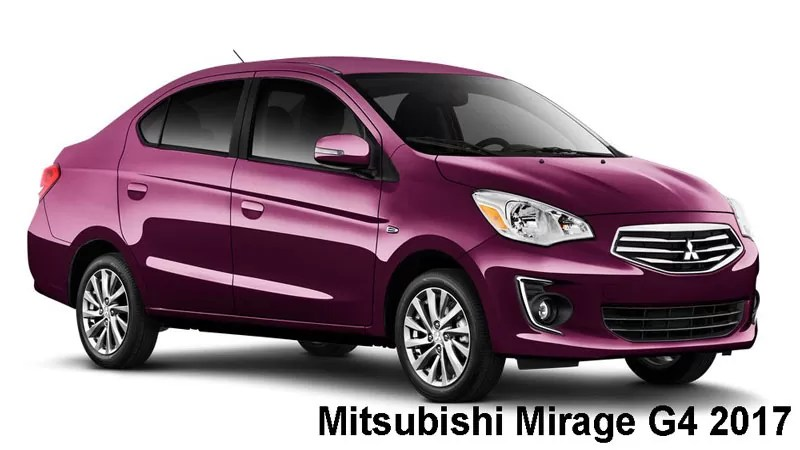Mitsubishi Mirage G4 2017 Price, Specifications & overview ...