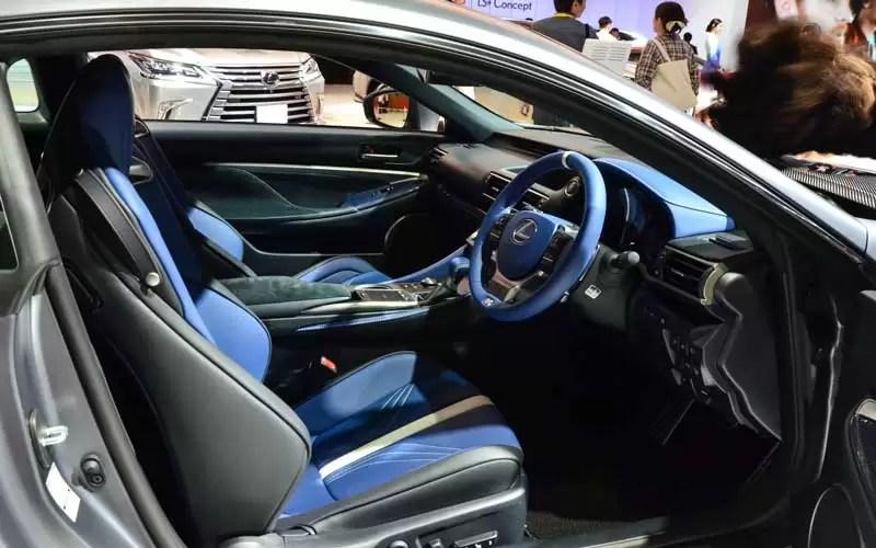 Lexus RCF Special Edition 2017 Interior 2