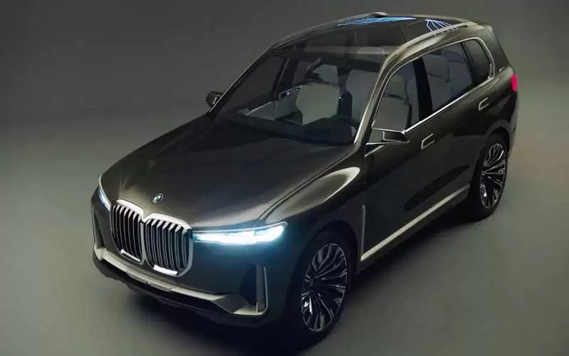 Bmw X7 I Performance Concept Revelation At La Auto Show 2017