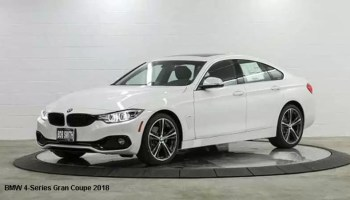 BMW 4 Series Gran Coupe 430i 2018 PriceSpecification