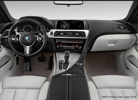 BMW-6-Series-640i-Gran-Coupe-2018-steering-and-transmission