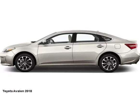 Toyota-Avalon-2018-side-image