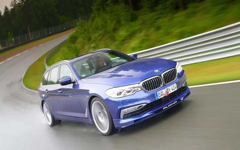 Fastest Estate Car Of The World By BMW Alpina Fairwheels - Bmw alpina b5 price