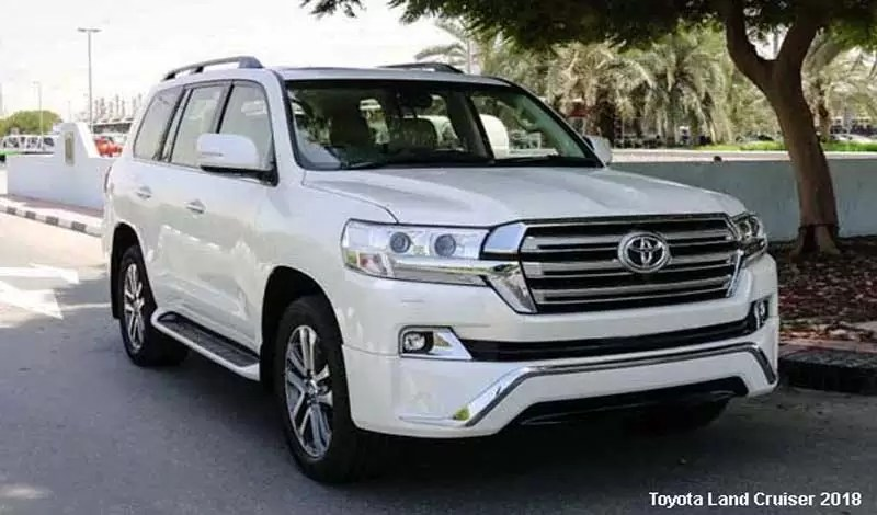 Toyota Land Cruiser 4wd Natl 2018 Price Specification
