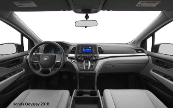 Honda-Odyssey-2018-steering-and-transmission