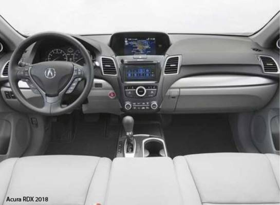 Acura-RDX-2018-steering-and-transmission