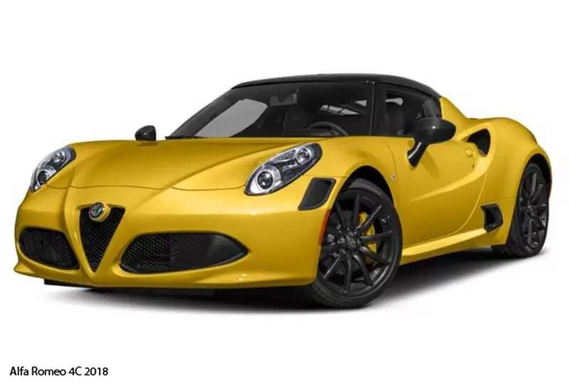 alfa romeo 4c coupe 2018 price,specifications & overview fariwheels alfa romeo insignia alfa romeo 4c 2018 feature image
