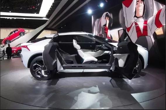 Mitsubishi Lancer SUV expected interior - 2018