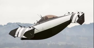 Blackfly vehicle flying photo