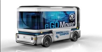 Debut of e-GO movers, Autonomous Electric Mini Buses