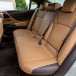 Lexus ES 2019 back seats