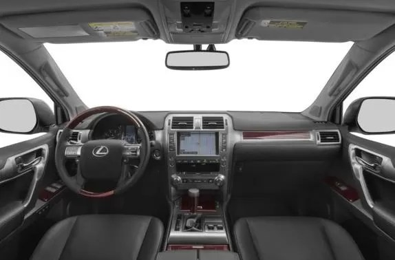 Lexus GX 2018 steering and transmission