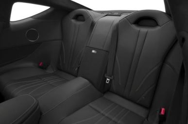 Lexus LC 2018 Back Seats