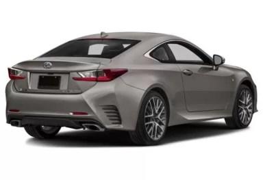 Lexus RC 2018 Title Image