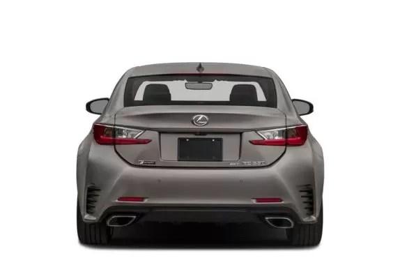 Lexus RC 2018 back image