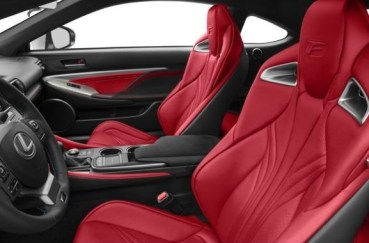 Lexus RC F Front Seats