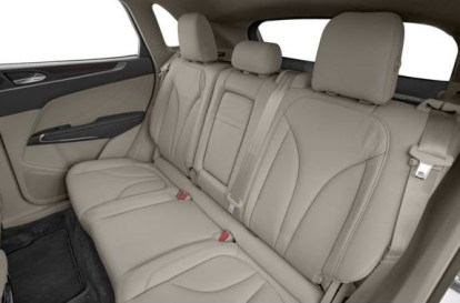 Lincoln MKC 2018 Back Seats