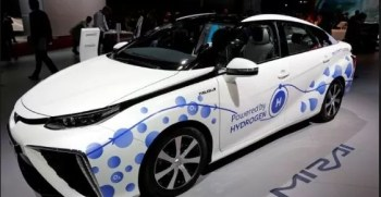 Mirai first Hydrogen Fuel cell vehicle by the company