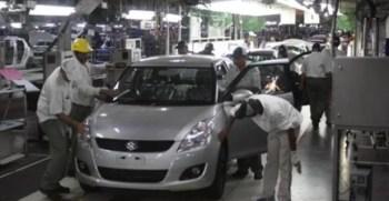 Pak Suzuki Production Plant in Karachi Pakistan.