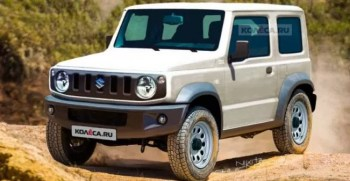 Suzuki Jimmy modifications like Defender & Mercedes G-Class