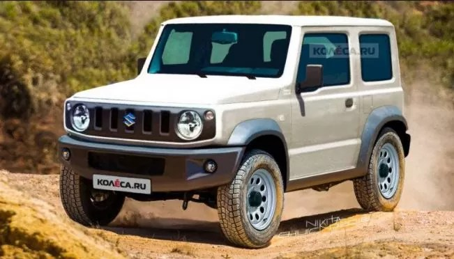 Suzuki Jimmy As Mini Defender Or Mercedes G Class By Chelsea Truck