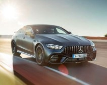 Front of Mercedes AMG GT 2019