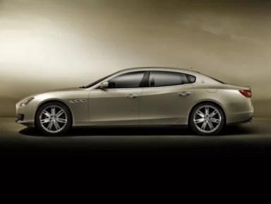 Maserati Quattroporte 2018 Side Image