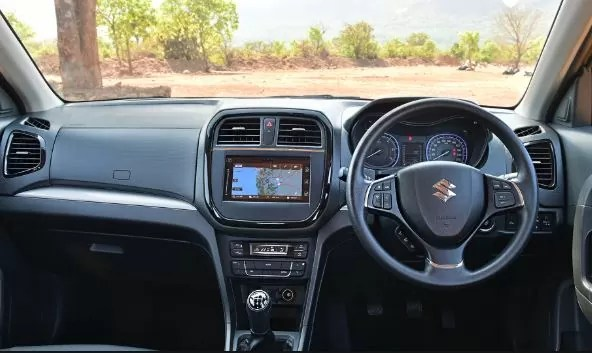 Interior of Suzuki Vitara