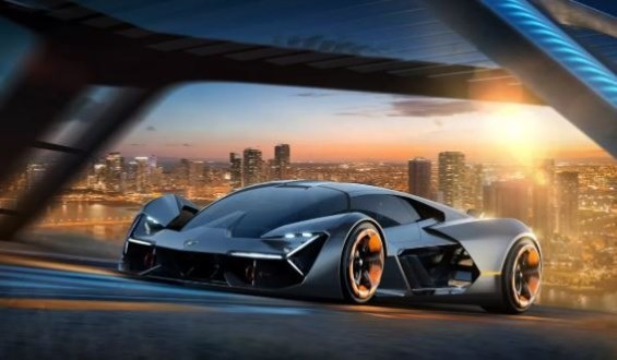Lamborghini Terzo Millennio self healing sports car