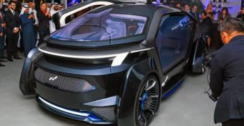 MUSE by W-Motors Fully Autonomous UAE Based Electric Vehicle