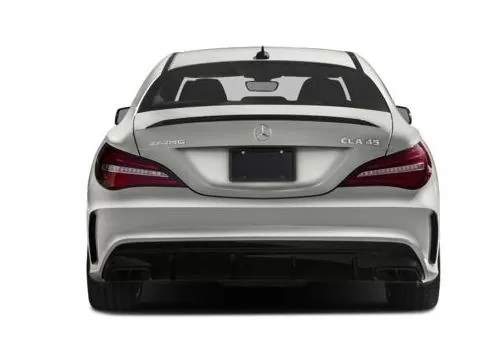 Mercedes AMG CLA45 2018 Back Image