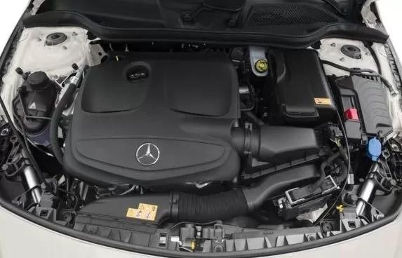 Mercedes AMG CLA45 2018 Engine Image