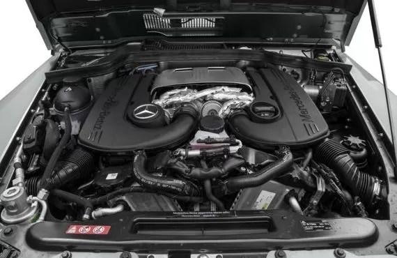 Mercedes AMG G63 2018 Engine Image