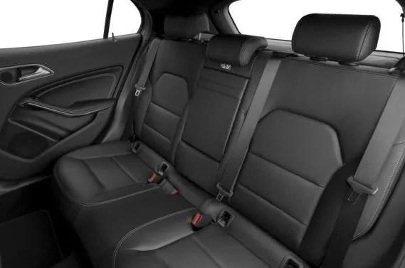 Mercedes AMG GLA45 2018 Back Seats