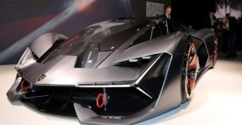 The Lamborghini Terzo Millennio Is Geneva's Most Aggressive Concept Car