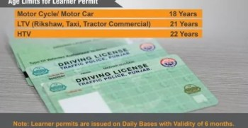 Complete Procedure for Applying and Getting Driving License in Lahore and Other Cities Pakistan